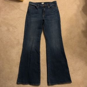 J Crew bootcut/flare jeans